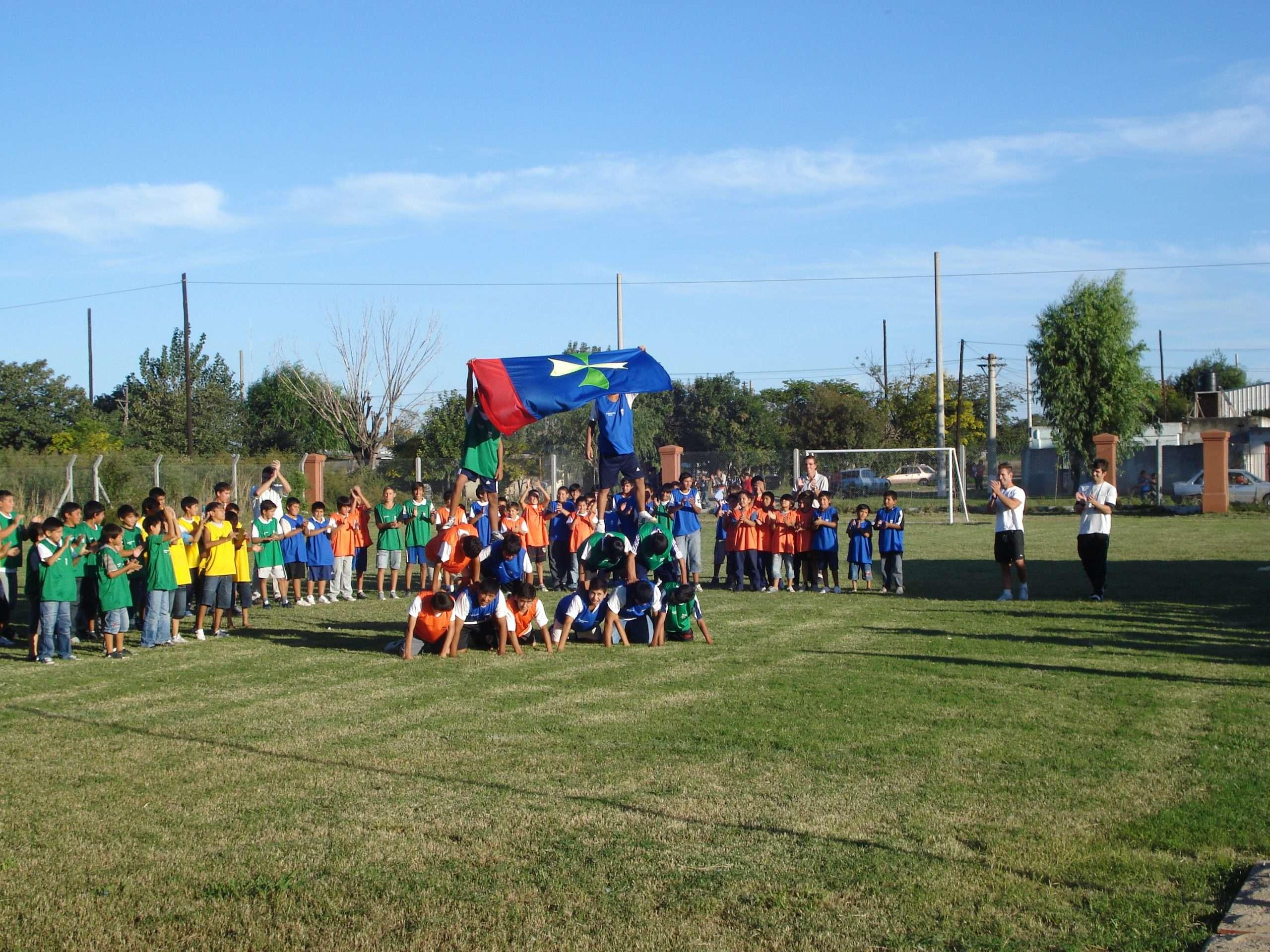 3 - Cuatro Vientos - muestra deportiva realizada por los alumnos